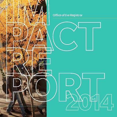 University Registrar's Impact Report